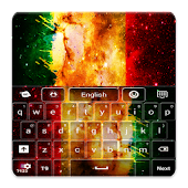 Rasta Galaxy Keyboard