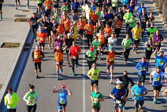 Photo: 3er Maratest 30 Km (Badalona) 23/2/14