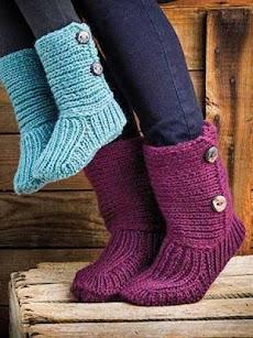 DIYのかぎ針編みの女性のスリッパのおすすめ画像2