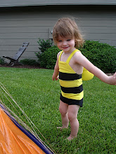 Photo: Bea in a Beesuit
