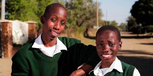 Sakhiwe and Bonkhe in Swaziland.
