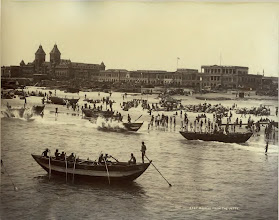 Photo: Madras - View from the jetty