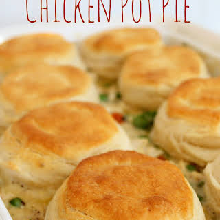 Chicken Pot Pie With Cream Of Chicken Soup And Biscuits Recipes.