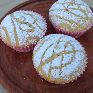Donna Hay caramel maple cupcake.