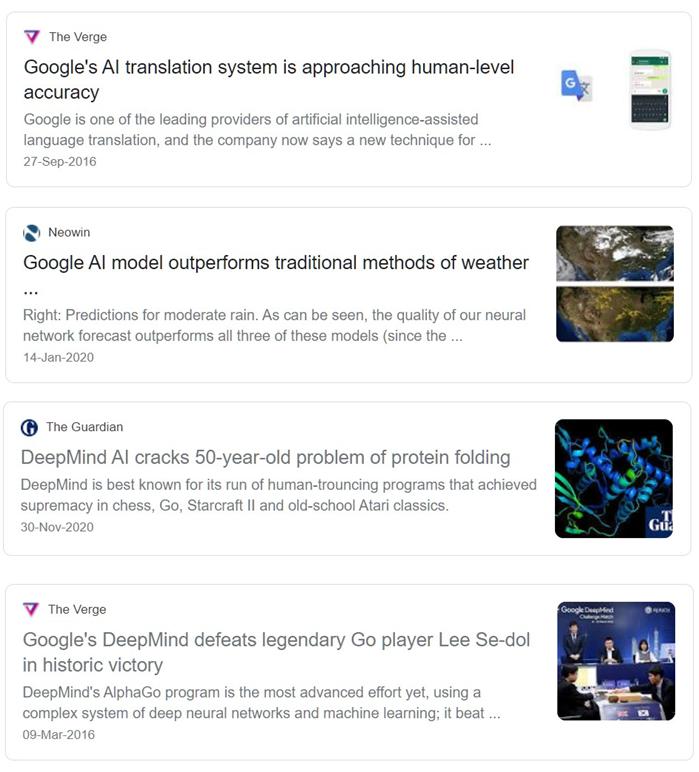 Artificial intelligence headlines