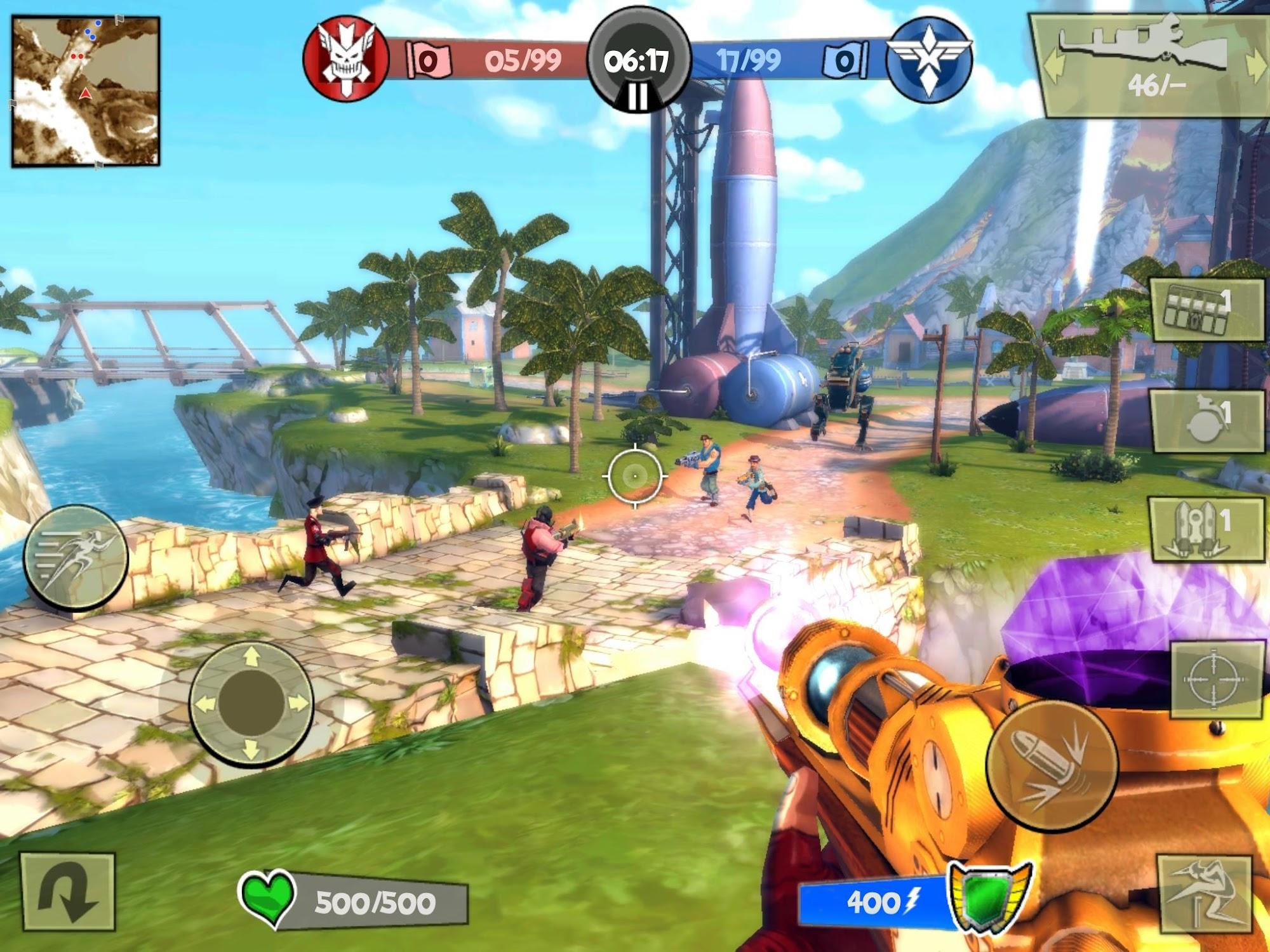Blitz Brigade - Online FPS fun screenshot #6