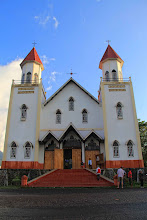 Photo: Ruteng is the regional capital of Manggarai. Its weather is far much cooler than the eastern part of the island. A well maintained grand chapel stands so beautifully in the downtown of Ruteng. http://www.indonesia.travel