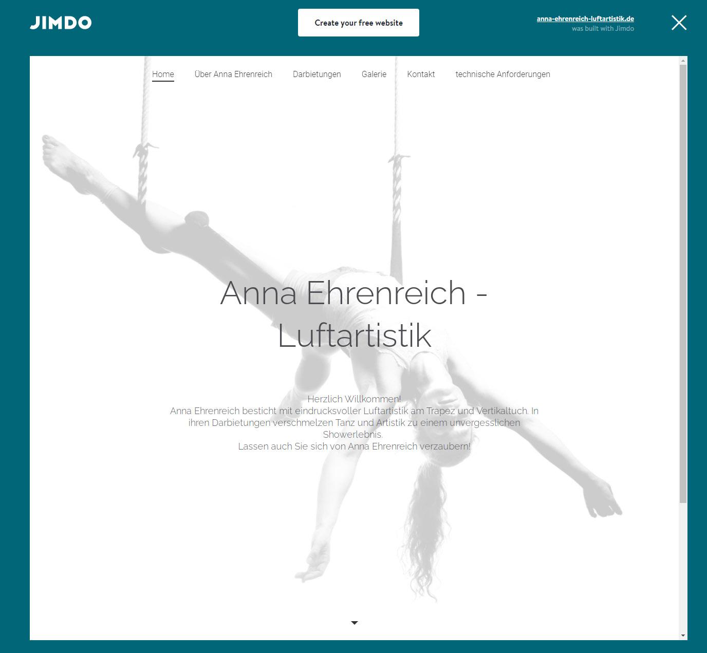 Anna Ehrenreich homepage