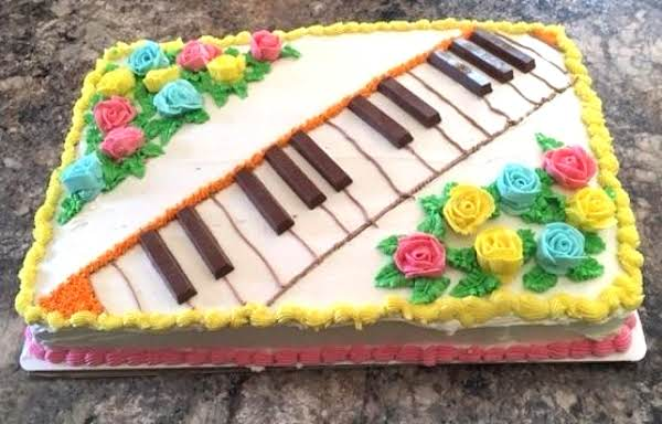 Recital Cake, 2017