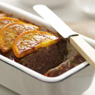 Orange Glazed Meatloaf.
