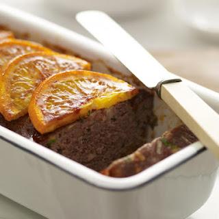 Orange Glazed Meatloaf.