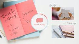 Write Ideas - YouTube Outro item