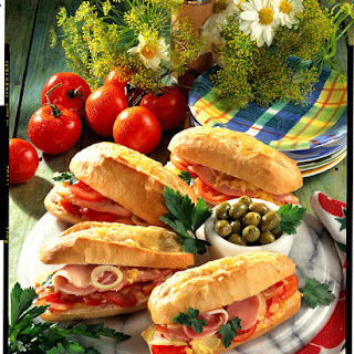 Toasted Ham Tomato Sandwich Recipes