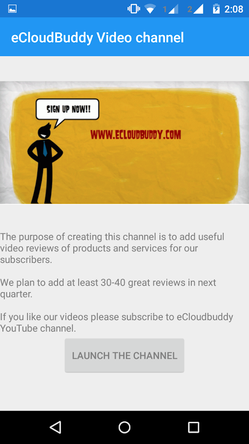 eCloudBuddy-the blog of Now!- screenshot