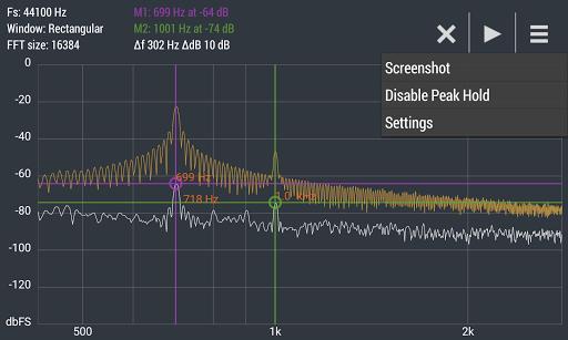 Advanced Spectrum Analyzer PRO 2.1 8