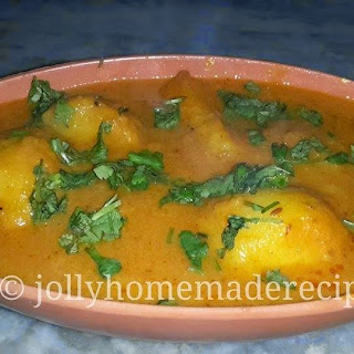 Punjabi Dum Aloo Recipe | Dum Aloo in Restaurant Style