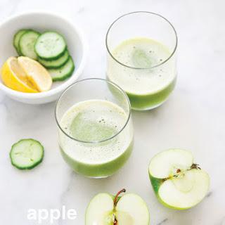 Apple, Cucumber & Lemon Juice.