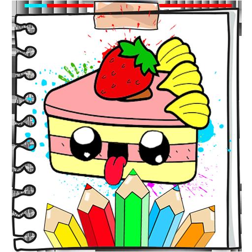 Kawaii Food Coloring Book Applications Sur Google Play