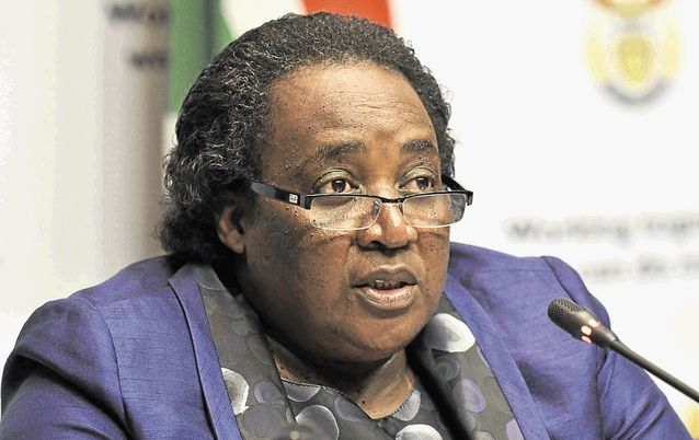 ENGAGING: Labour Minister Mildred Oliphant says the Commission for Employment Equity will discuss the slow pace of workplace transformation with business leaders. Picture: BUSINESS DAY