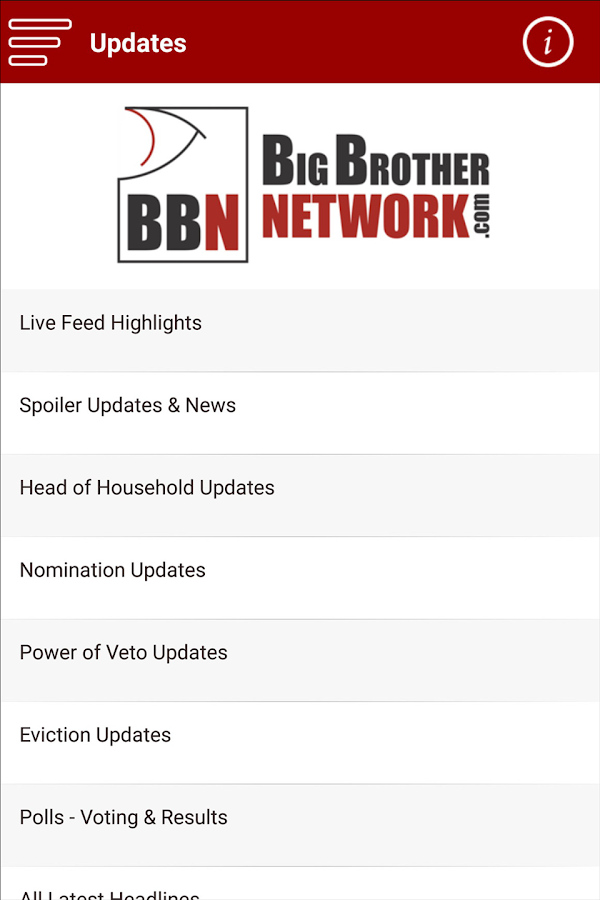Big Brother Network- screenshot