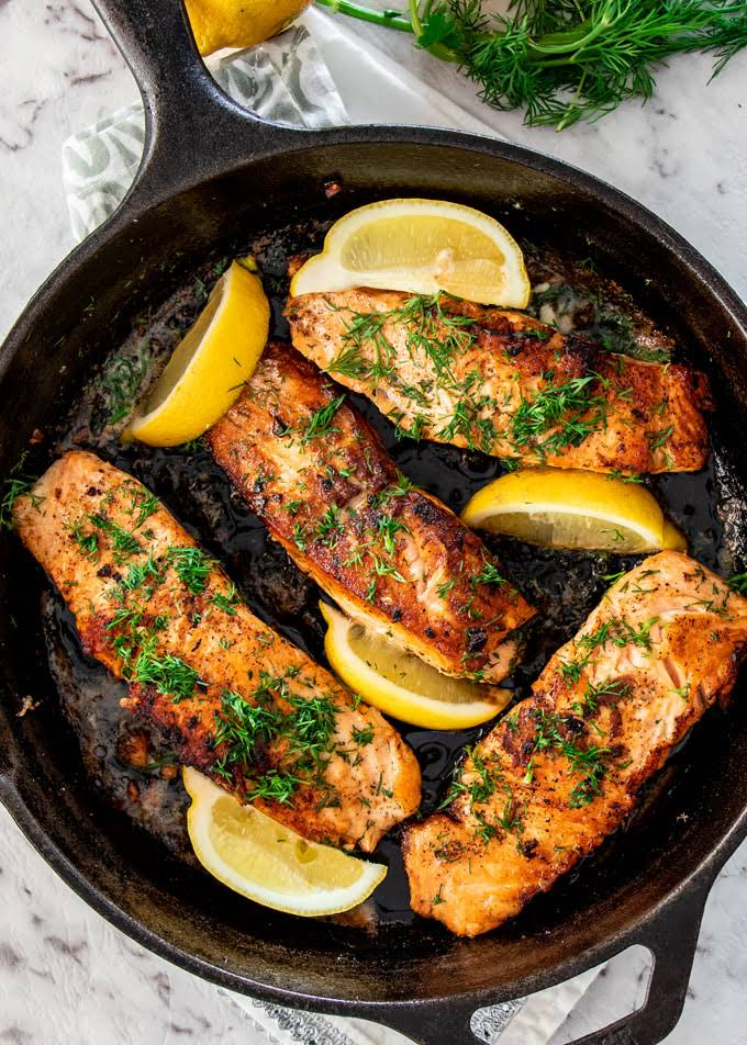 10 Best Healthy Pan Fried Salmon Recipes