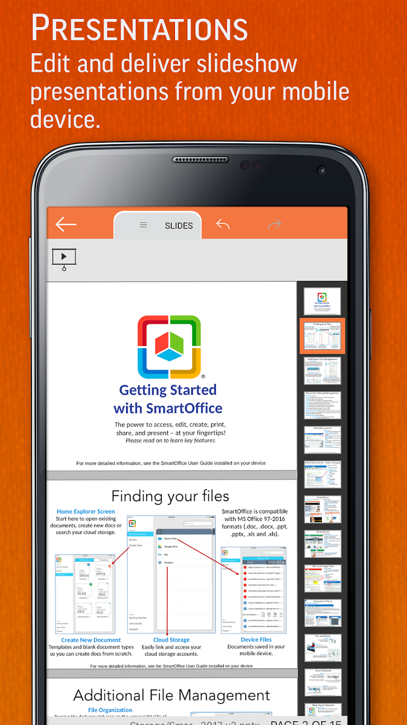 SmartOffice - View & Edit MS Office files & PDFs Screenshot 3