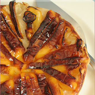 Yellow Pepper Tarte Tatin