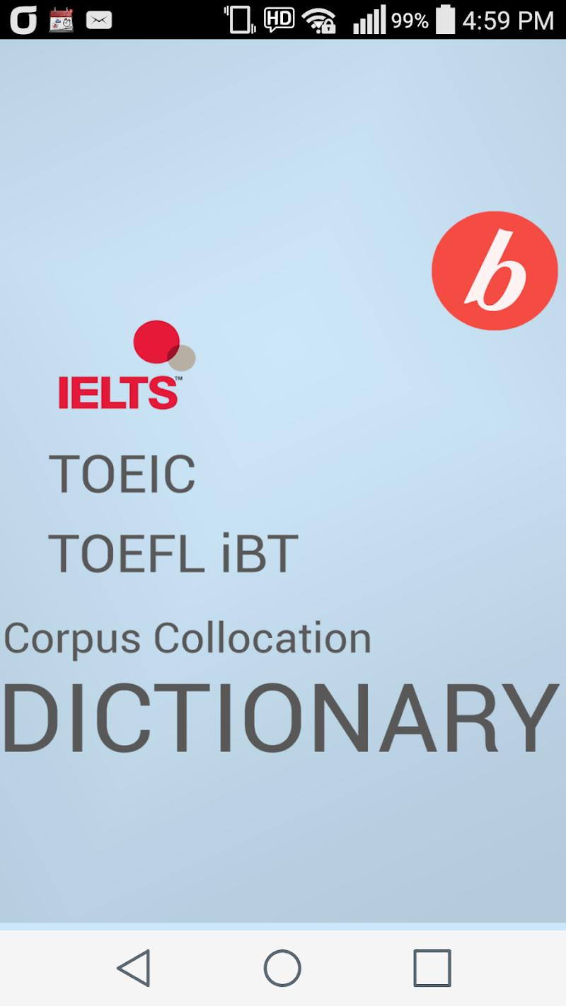 Collocation Dictionary Pro Screenshot