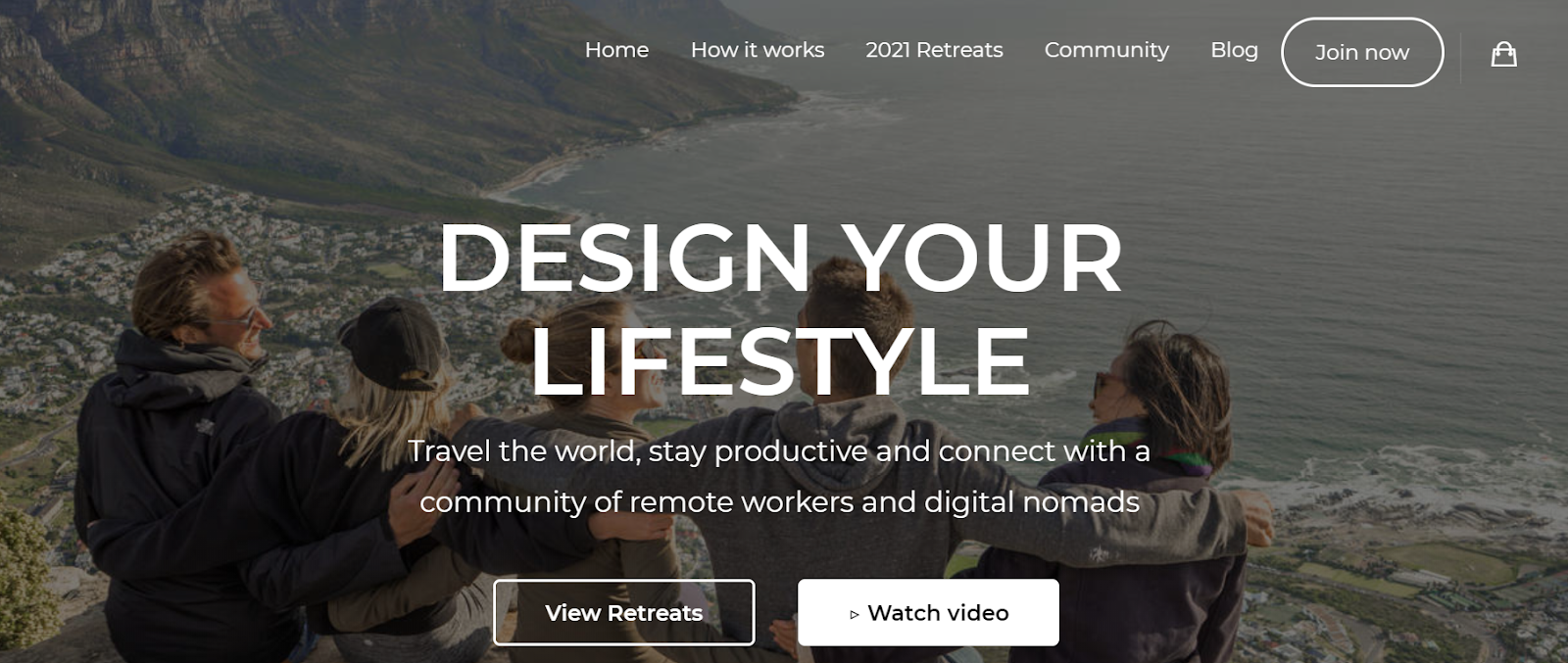 Work Wanderers home page