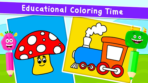 Coloring Games for Kids - Drawing & Color Book  screenshots 3
