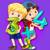 Kids Math Buddy 123 - Magical Learning Games