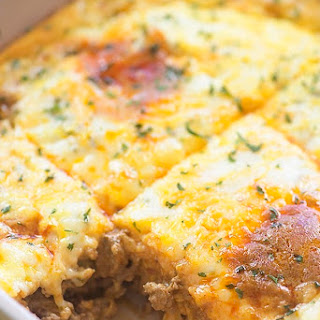 Low Carb Taco Casserole Recipe