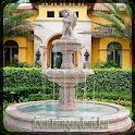 fountain garden idea icon