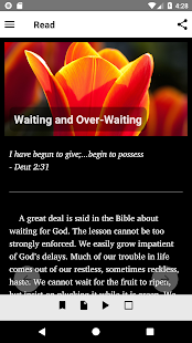 Streams in the Desert Daily Devotional- screenshot thumbnail