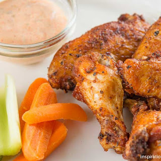 Creole Seasoned Dry Rub Chicken Wings Recipe
