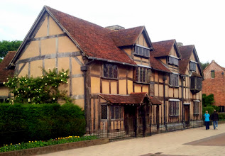 Photo: Shakespeare's Birthplace