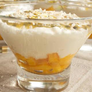 Passion Fruit Mango Cream.
