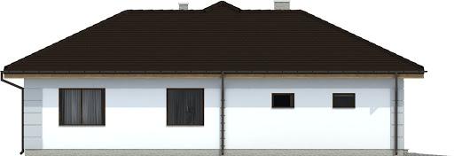 Radek III z garażem 1-st. A - Elewacja prawa