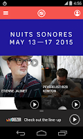 Screenshot of Nuits sonores Festival