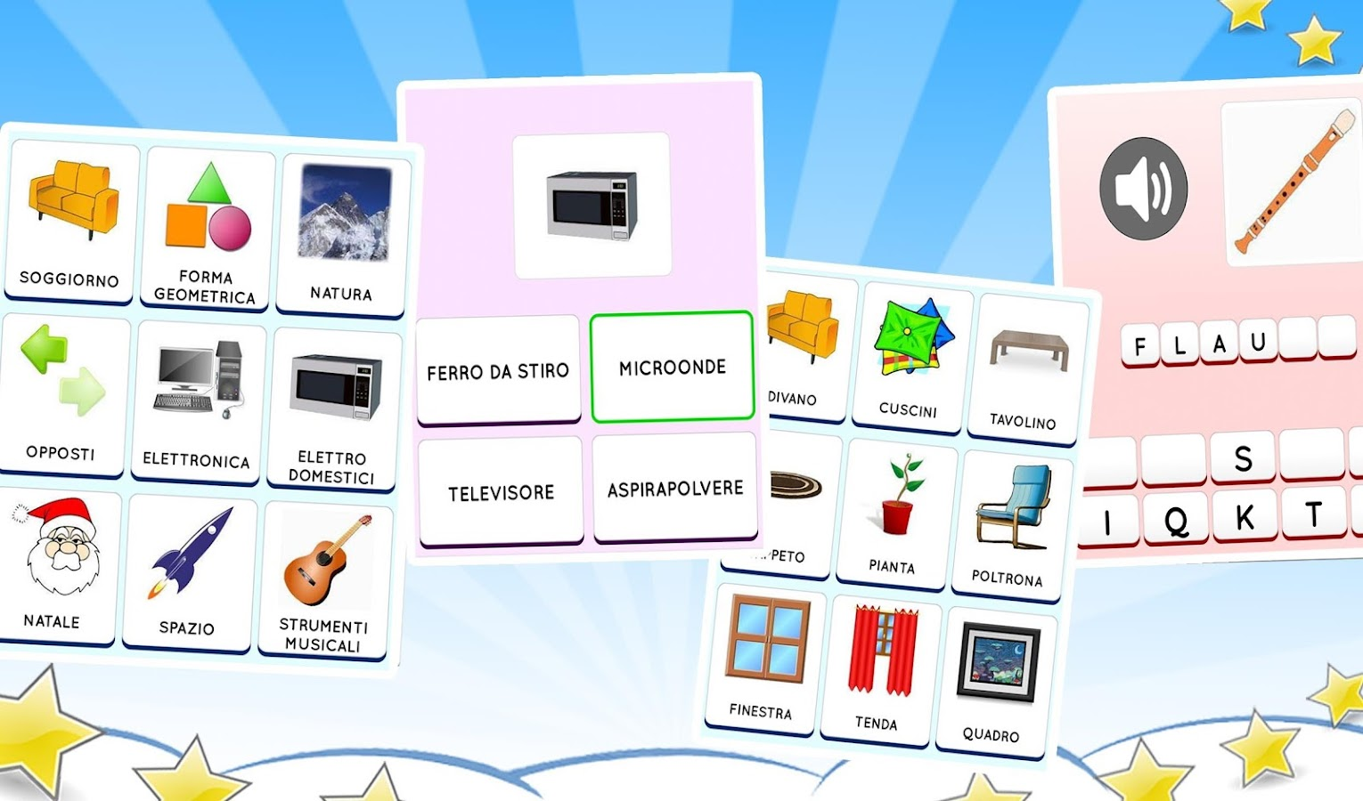 Learn Italian free for beginners: kids & adults- screenshot