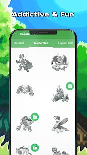 Pokess Color by Number - Sandbox Pixel Screenshot