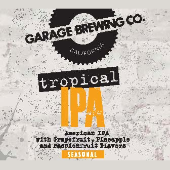 Logo of Garage Tropical IPA