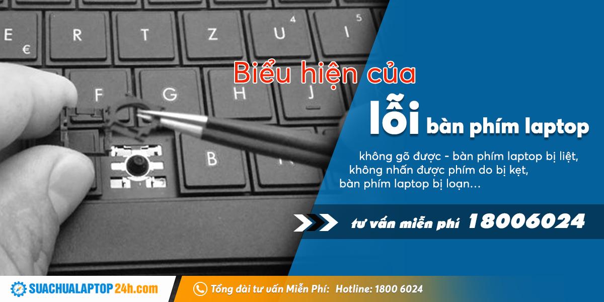 lỗi bàn phím laptop