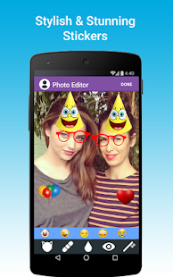 Photo Editor: Funny Stickers- screenshot thumbnail