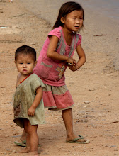 Photo: Day 304 - Street Kids - How Dirty Am I (Laos)