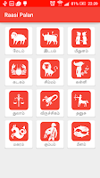 Screenshot of Raasi Palan - Tamil Astrology