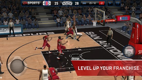NBA LIVE Mobile- screenshot thumbnail
