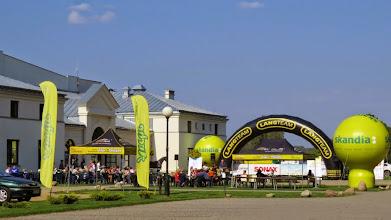 Photo: E9132387 Wygoda - startuje wyscig pod patronatem i w obecnosci Czeslawa Langa