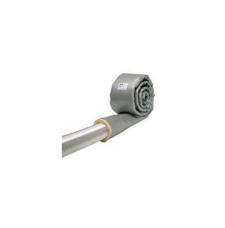 Kondensstrumpa för kanal 125 mm- Kondensisolering-30 mm L= 4 m