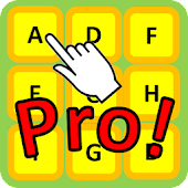 Touch alphabets in Order Pro!